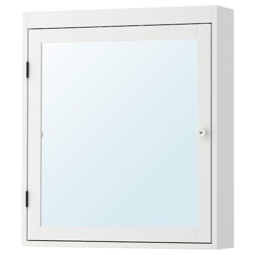 SILVERÅN armario de espejo blanco 60 cm 14 cm 68 cm