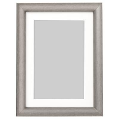 SILVERHÖJDEN Marco, gris plata, 13x18 cm