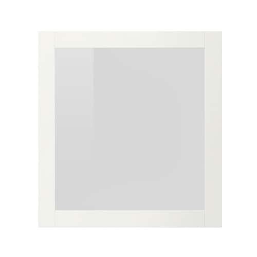 Puerta de vidrio, blanco