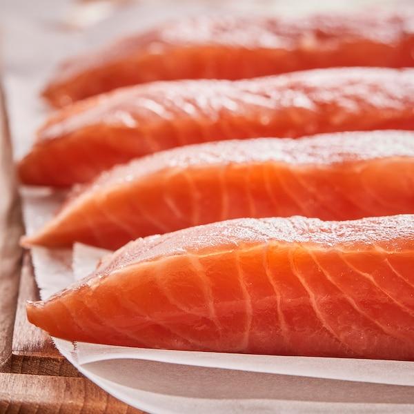 SJÖRAPPORT Filete salmón, certificado ASC/congelado