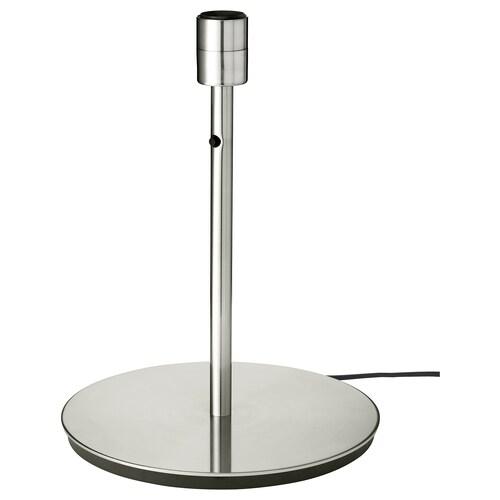 SKAFTET pie de lámpara de mesa niquelado 13 W 38 cm 29 cm 200 cm