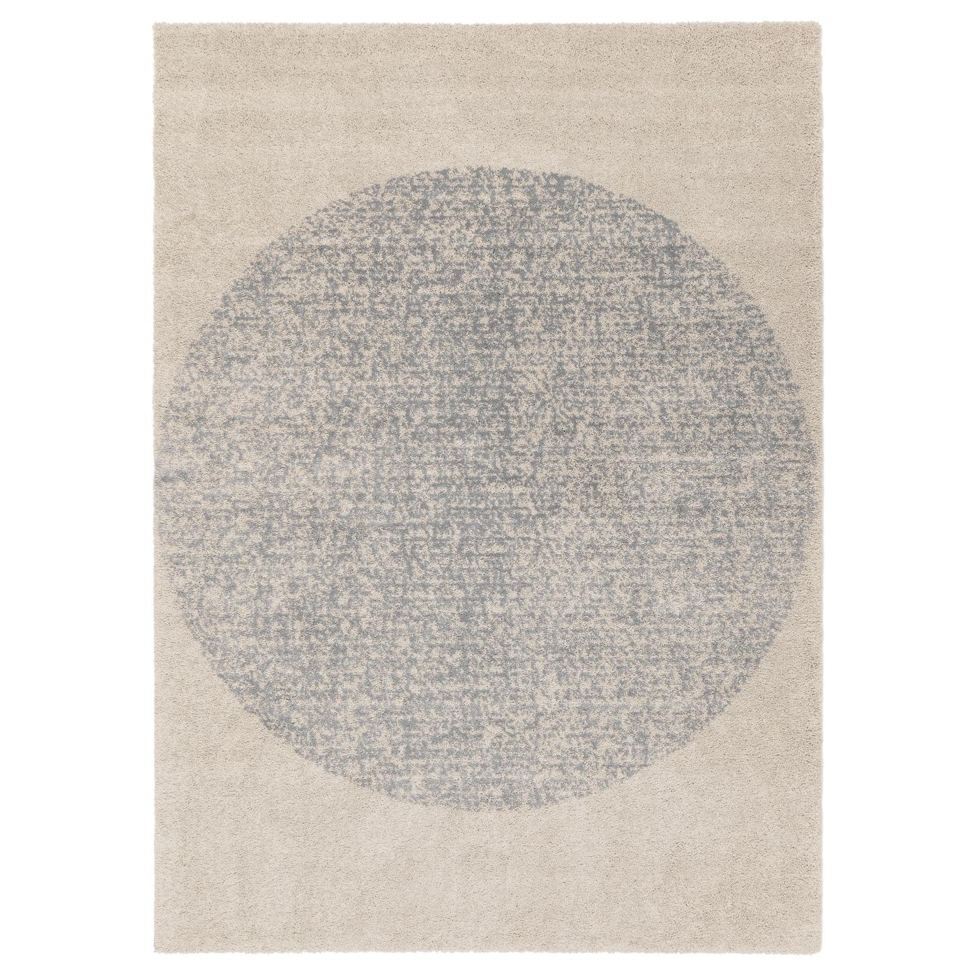 Skarres alfombra pelo largo gris 170 x 240 cm ikea - Alfombra gris ikea ...