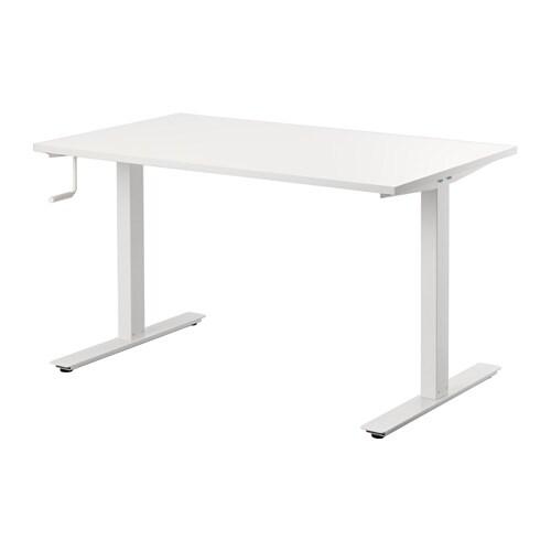 Skarsta escritorio sentado de pie ikea - Ikea escritorio blanco ...