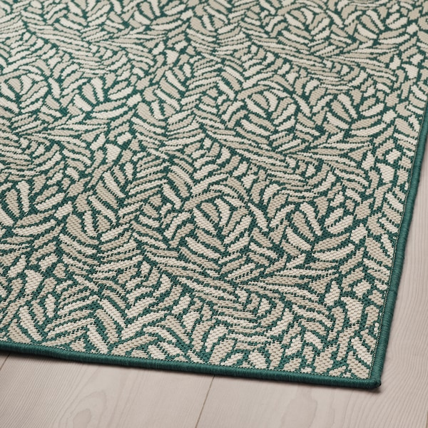 SKELUND Alfombra int/exterior, verde-beige, 200x250 cm