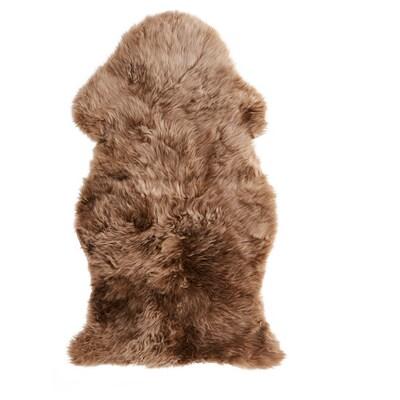SKOLD Piel de oveja, beige, 90 cm