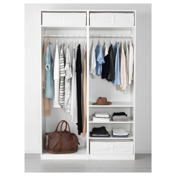 SKUBB Bolsa de almacenaje, blanco, 69x55x19 cm