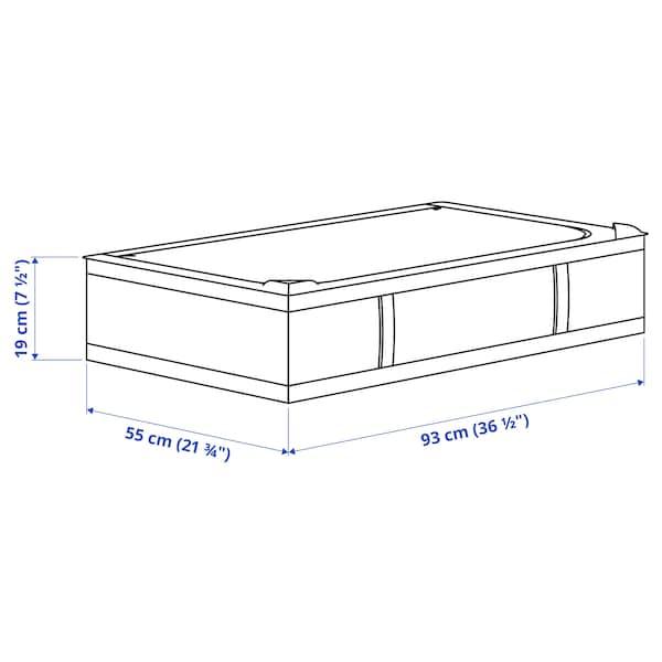 SKUBB Bolsa de almacenaje, blanco, 93x55x19 cm