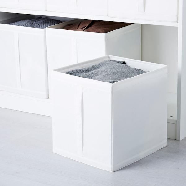 SKUBB Caja, blanco, 31x34x33 cm