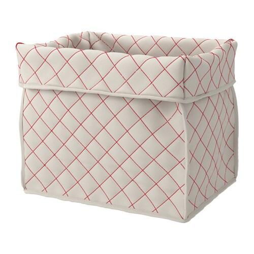 Skubbare cesta natural rojo ikea - Ikea cestas cocina ...