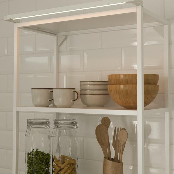 SKYDRAG Iluminación LED enc/arm y snsr, regulación intensidad luminosa blanco, 80 cm