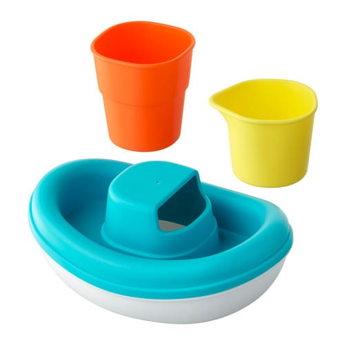 smÅkryp juguetes baño 3 pz barco ikea