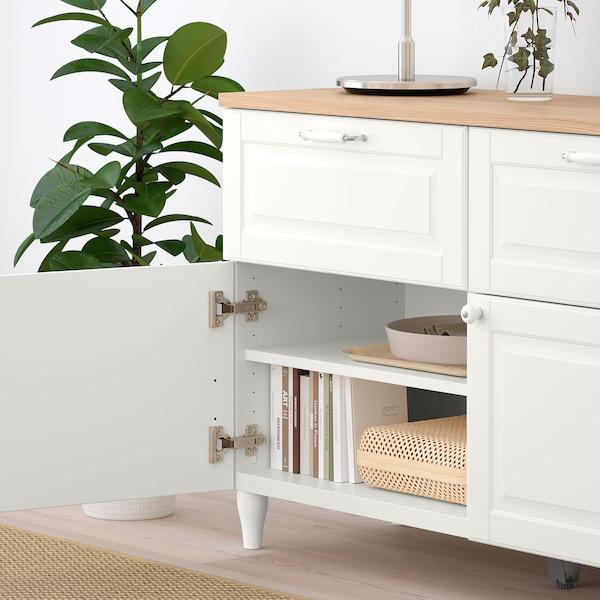 SMEVIKEN Puerta/frente de cajón, blanco, 60x38 cm