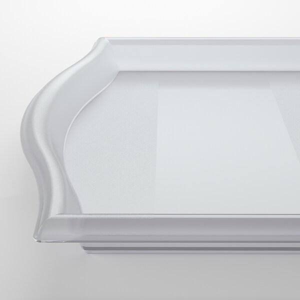 SMULA Bandeja, transparente, 52x35 cm