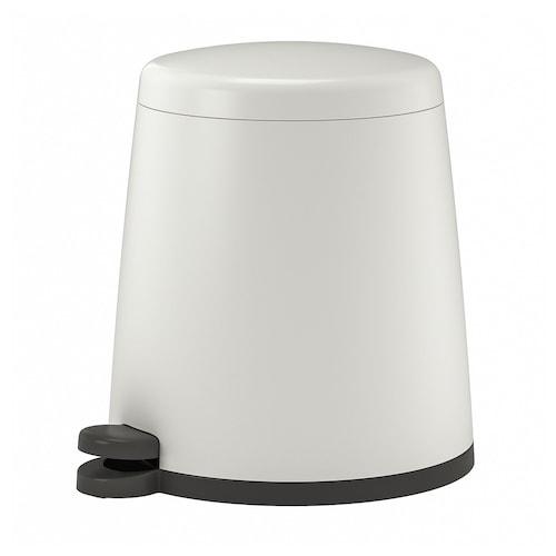 SNÄPP cubo de basura pedal blanco 37 cm 32 cm 12 l
