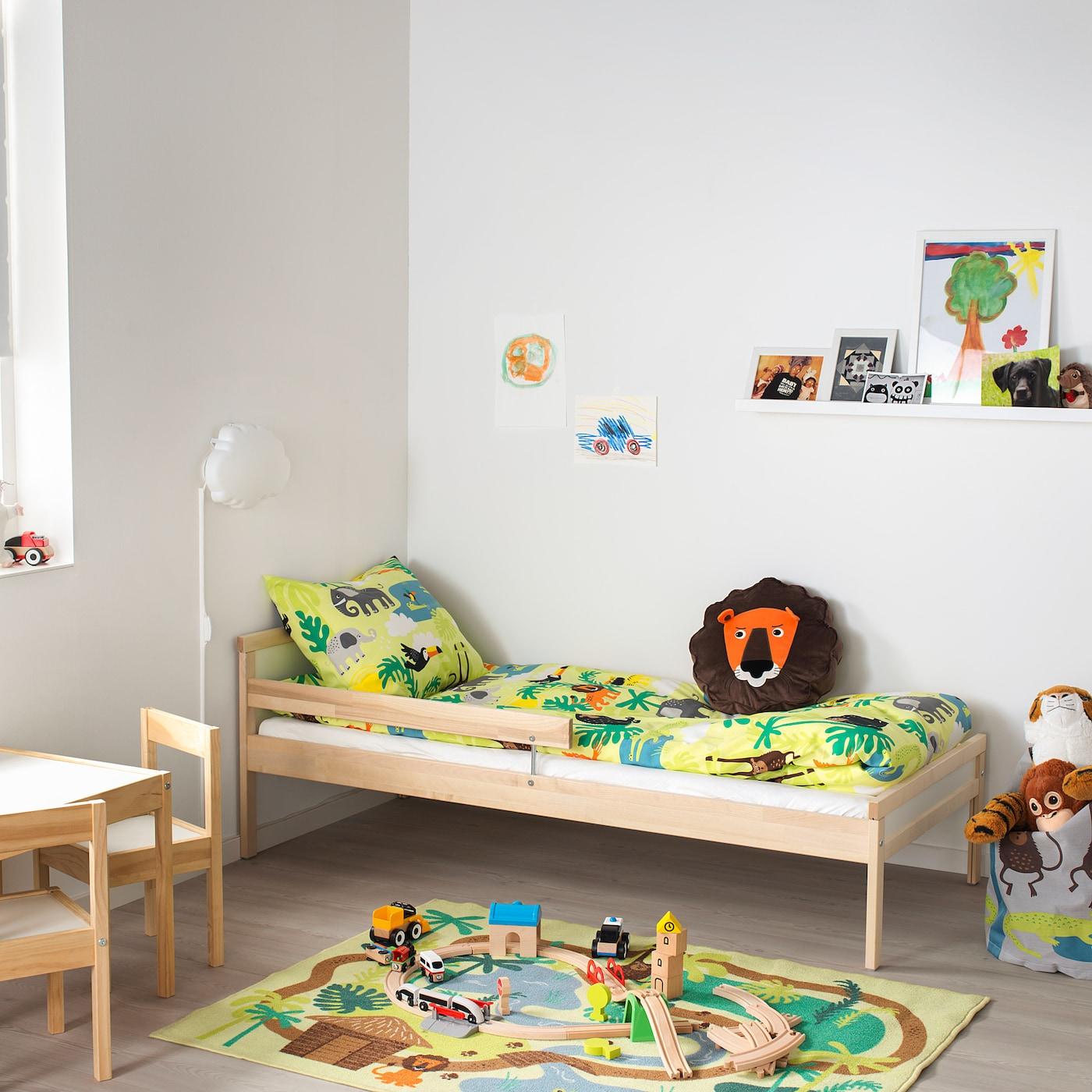 SNIGLAR Estructura de cama con somier haya 70x160 cm