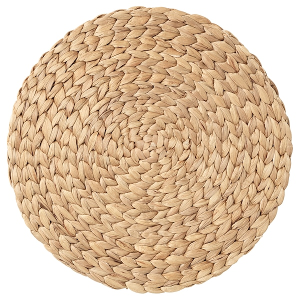 SOARÉ Mantel individual, jacinto de agua, 37 cm