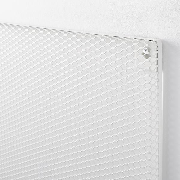 SÖDERGARN Tablero notas con imán, blanco, 60x60 cm