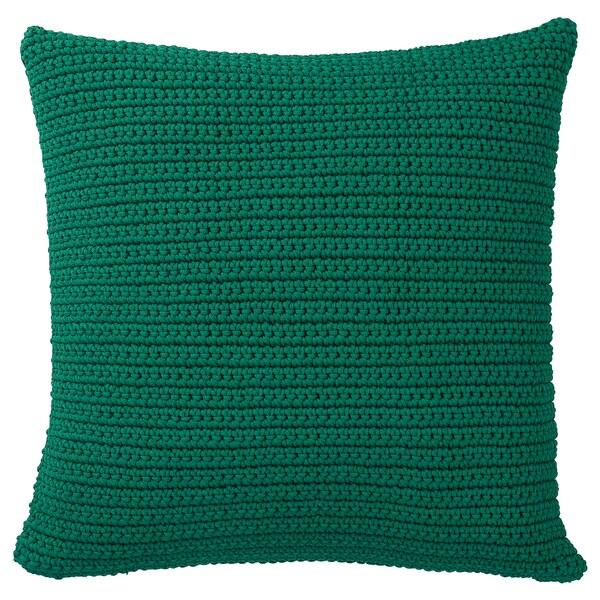 SÖTHOLMEN funda cojín int/ext verde oscuro 50 cm 50 cm
