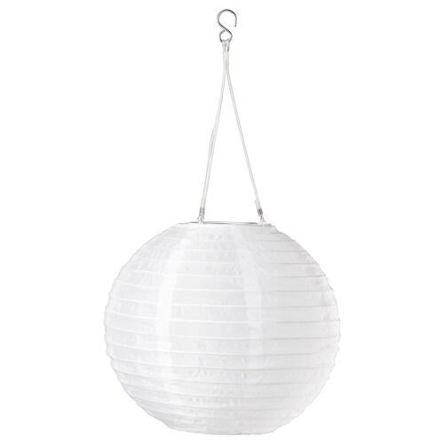 SOLVINDEN lámpara techo solar LED exterior/globo blanco 3 lm 30 cm 26 cm 26 cm