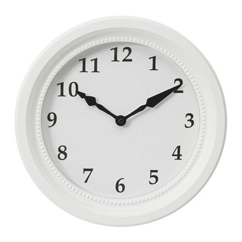 sndrum reloj de pared blanco dimetro
