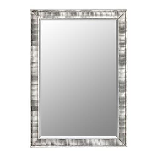 SONGE Espejo gris plata Ancho: 91 cm Altura: 130 cm