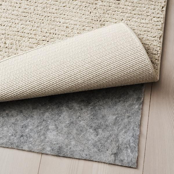 SPORUP Alfombra, pelo corto, beige claro, 133x195 cm