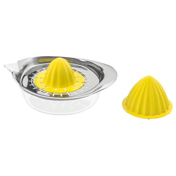 SPRITTA Exprimidor, transparente/amarillo ac inox