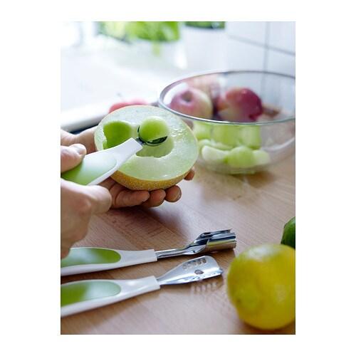 SPRITTA Juego para decorar fruta IKEA Para limpiar carozos, etc. de forma rápida y sencilla.