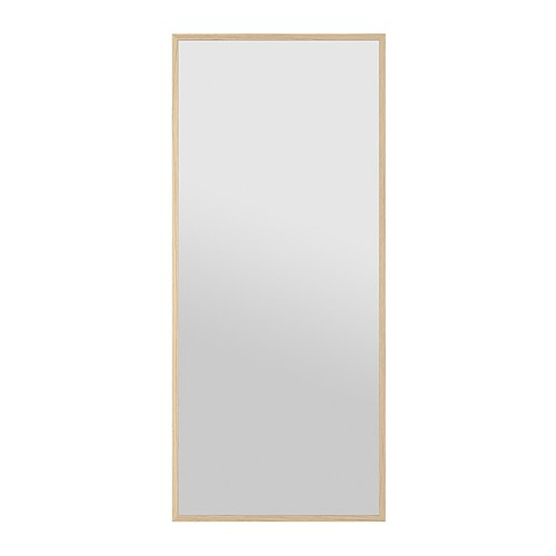 Stave espejo efecto roble tinte blanco 70x160 cm ikea - Espejos de ikea ...
