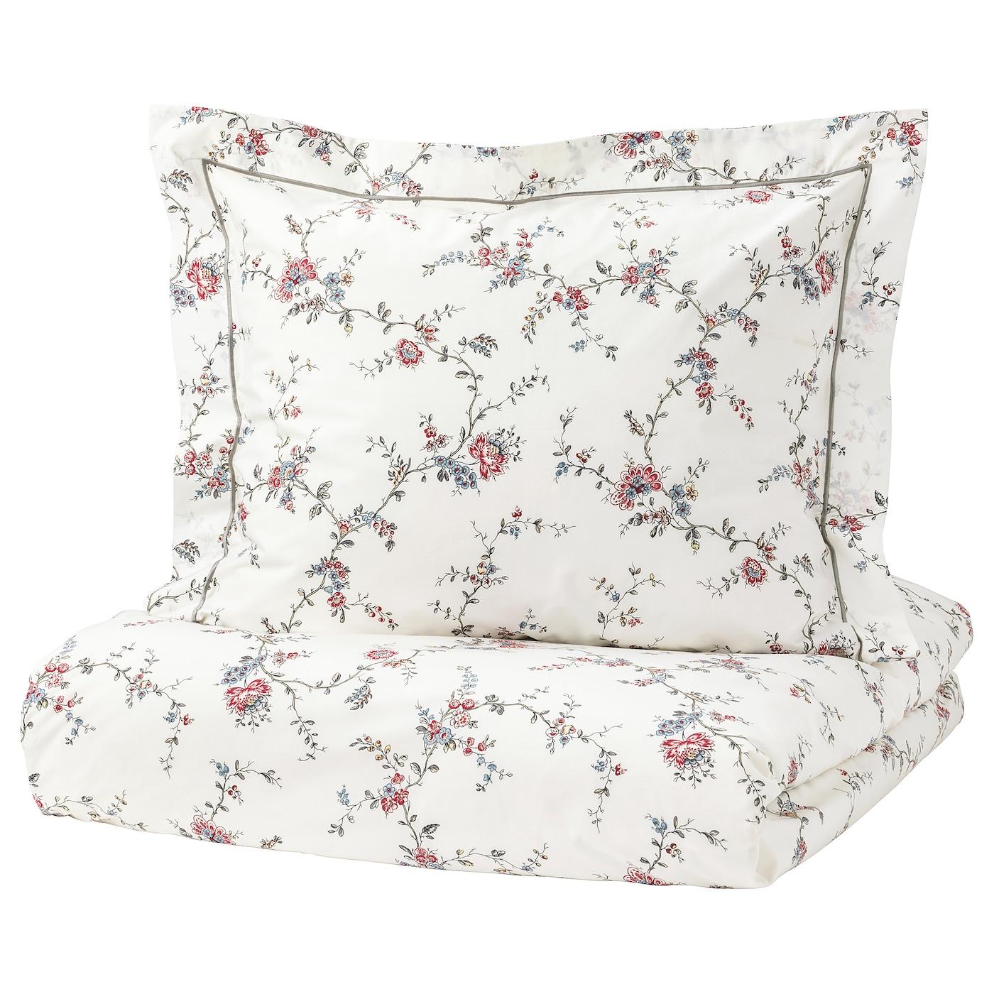 STENÖRT Funda nórd y funda para almohada Flor 150 x 200/50 x 60 cm