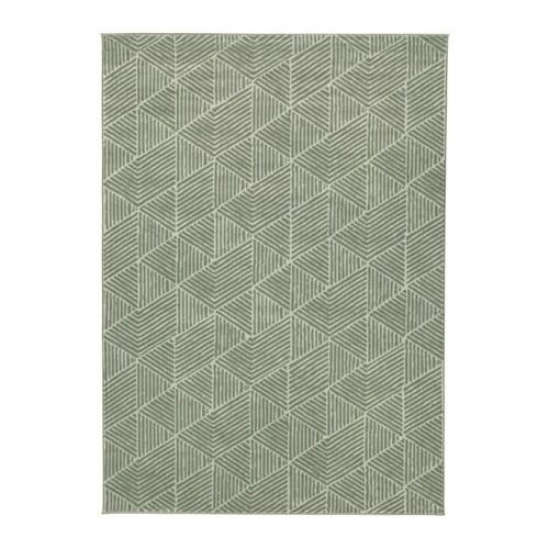 Stenlille alfombra pelo corto ikea for Alfombra verde ikea