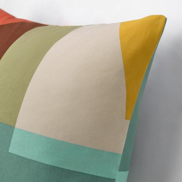 STENMÄTARE Funda de cojín, multicolor, 50x50 cm