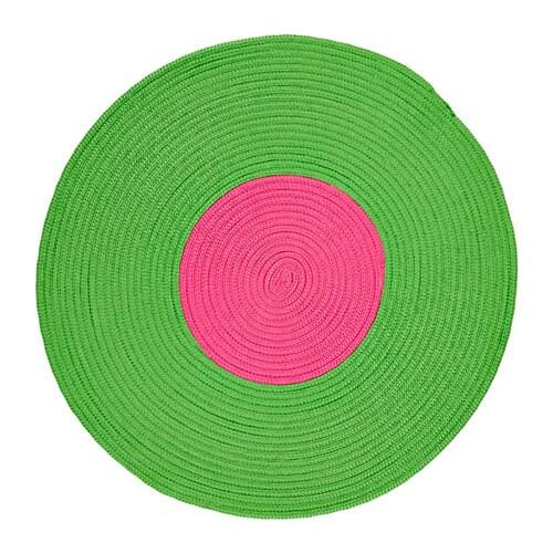 Stickat alfombra trenz ikea for Alfombra verde ikea
