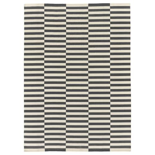 STOCKHOLM 2017 alfombra a mano/rayas gris 350 cm 250 cm 8.75 m²
