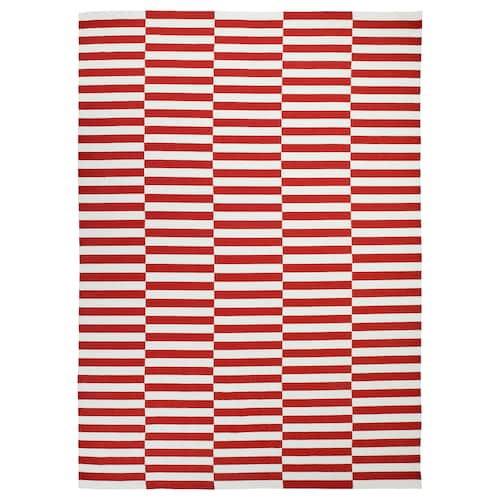 STOCKHOLM 2017 alfombra a mano/rayas rojo 350 cm 250 cm 8.75 m²