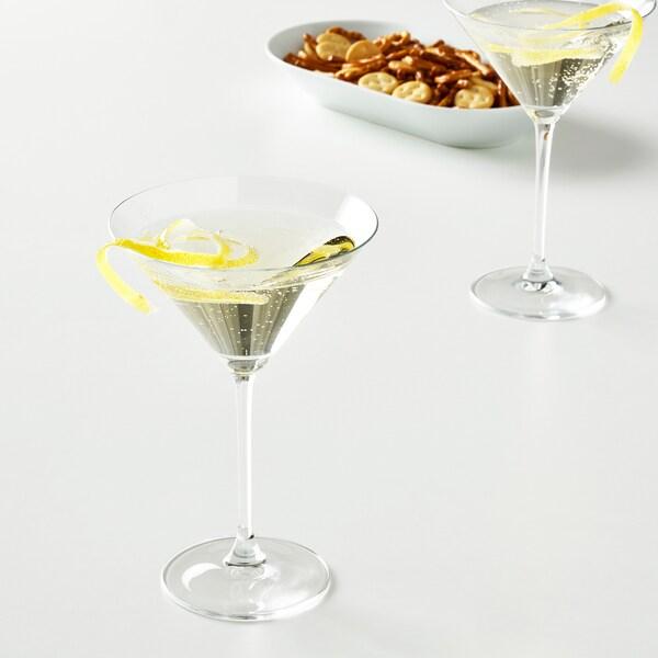 STORSINT copa p/martini vidrio incoloro 18 cm 24 cl