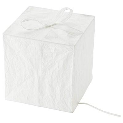 STRÅLA Adorno mesa LED, caja, 21 cm