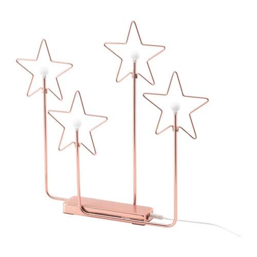 Str la adorno 4 strell led ikea - Ikea iluminacion decorativa ...