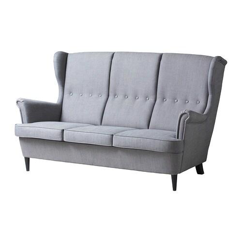 Strandmon sof 3 plazas ikea - Ikea valencia sofas ...
