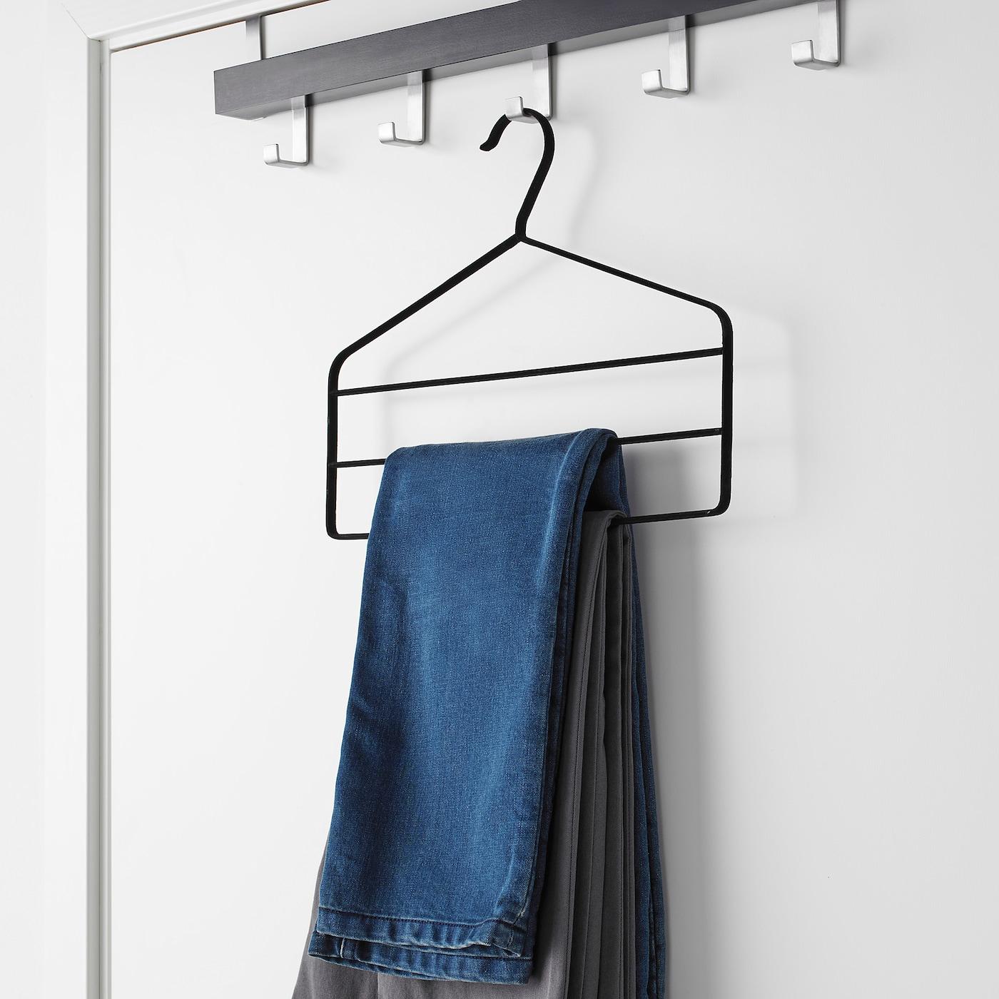 Strykis Percha Para Pantalones Negro Ikea