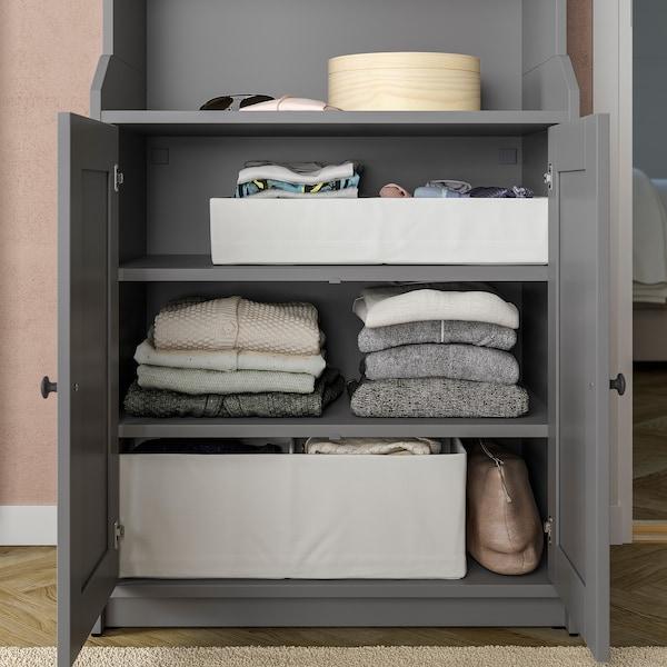STUK Caja con compartimentos, blanco, 34x51x10 cm