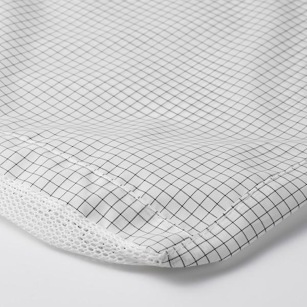 STUK Funda para ropa, blanco/gris