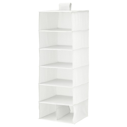 STUK almacenaje+7 compartimentos blanco/gris 30 cm 30 cm 90 cm