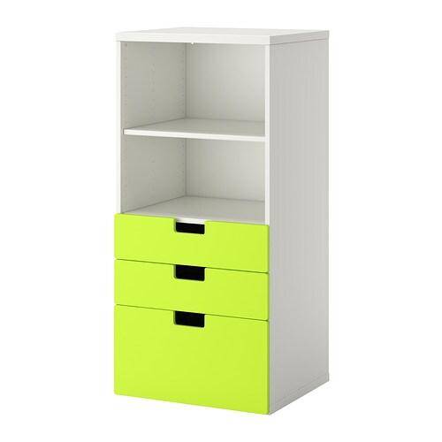 Stuva almacenaje con cajones blanco verde ikea - Ikea organizadores cajones ...