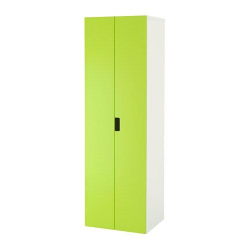 Armario Archivador Madera ~ STUVA Armario blanco verde IKEA