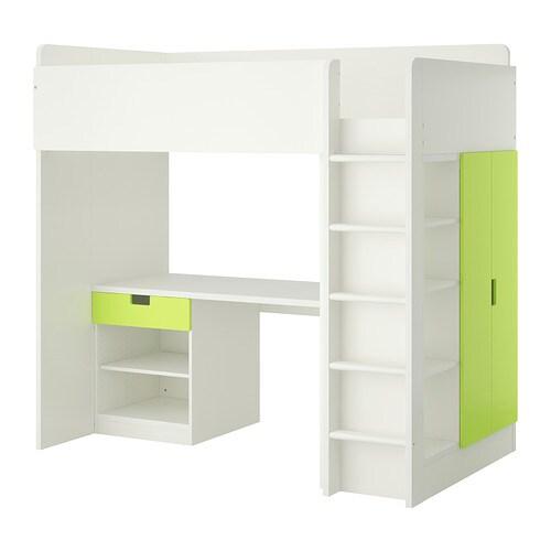 Ca al1cj2p, blanco, verde - IKEA