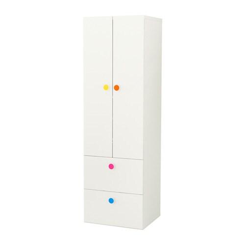 Stuva f lja armario con 2 puertas 2cajones blanco 60 x 50 for Armario infantil ikea