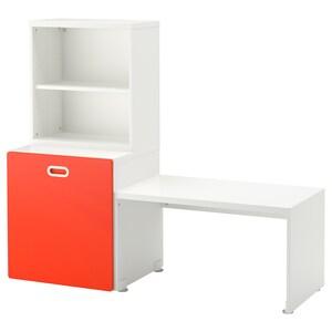 Color: Blanco/rojo.
