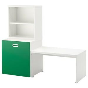 Color: Blanco/verde.