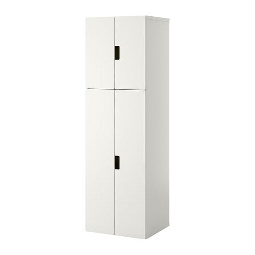 Stuva mueble de sal n con almacenaje blanco blanco ikea for Mueble ikea salon